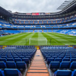 Panorama des Estadio Santiago Bernabéu in Madrid