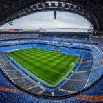 Panorama des Estadio Santiago Bernabéu in Madrid