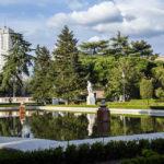 Die Sabatini-Gärten (Jardines de Sabatini) in Madrid