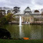 Der Kristallpalast (Palacio de Cristal) im Retiro-Park (Parque del Retiro)