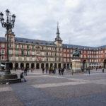 Der Hauptplatz (Plaza Mayor) von Madrid