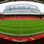 Panorama des Stadions Anfield des FC Liverpool