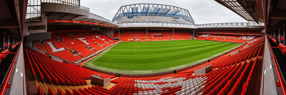Stadion Anfield in Liverpool