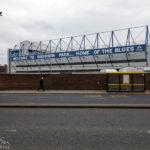 Außenansicht des Stadions Goodison Park des FC Everton