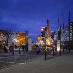 Der Zugang zum Albert Deck auf der Waterfront von Liverpool