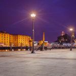 Promenade im historischen Hafenviertel Albert Dock