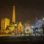 Das historische Pump House im Albert Dock, heute ein beliebtes Restaurant