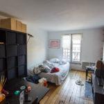 Innenansicht meiner Airbnb-Unterkunft in Paris