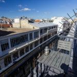 Blick über die Dächer vom Balkon meiner Airbnb-Unterkunft in Paris
