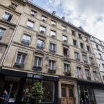 Außenansicht meiner Airbnb-Unterkunft in Paris