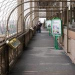 Eine der Aussichtsterrassen des Eiffelturms