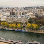 Blick von der Aussichtsterrasse des Eiffelturms
