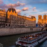 Bootstour auf der Seine mit Blick auf die Kathedrale Notre-Dame de Paris