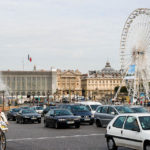 Das tägliche Verkehrschaos auf dem Place de la Concorde