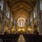 Innenansicht der Dreifaltigkeitskirche Église de la Sainte-Trinité