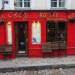 Das Chez Marie Restaurant im Künstlerviertel Montmartre