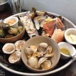 Meeresfrüchte im Lokal Le Verre Volé Sur Mer