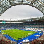 Innenansicht des Stadions Stade de France nach dem Euro-2016-Spiel Österreich – Island