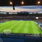 Innenansicht des Stadions Parc de Princes in Paris während des Euro-2016-Spiels Portugal – Österreich