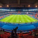 Innenansicht des Stadions Parc de Princes in Paris nach dem Euro-2016-Spiel Portugal – Österreich