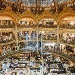 Panoramaansicht der Galeries Lafayette Haussmann