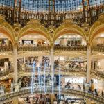 Innenansicht der Galeries Lafayette Haussmann