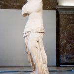 Die Statue Venus von Milo im Louvre