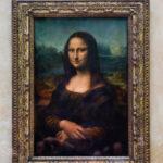 Das berühmte Gemälde der Mona Lisa von Leonardo da Vinci