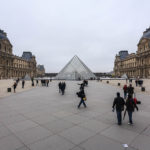 Der Place du Carrousel, auf dem der Louvre situiert ist