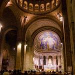 Innenansicht der Basilika Sacré-Cœur