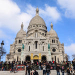 Viel los vor der Basilika Sacré-Cœur