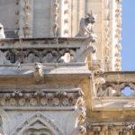 Die berühmten Wasserspeier der Kathedrale Notre-Dame de Paris