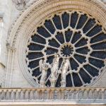 Detailansicht der Kathedrale Notre-Dame de Paris