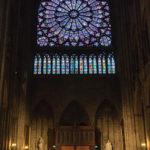 Innenansicht der Kathedrale Notre-Dame de Paris