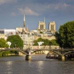 Die Kathedrale Notre-Dame de Paris und der Stadtteil Île de la Cité