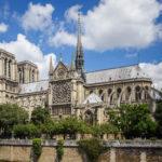 Südansicht der Kathedrale Notre-Dame de Paris
