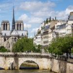 Westansicht der Kathedrale Notre-Dame de Paris
