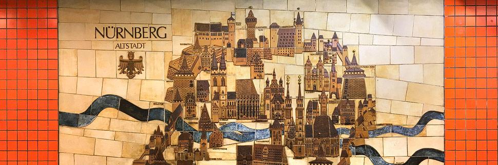 Bild der Altstadt von Nürnberg