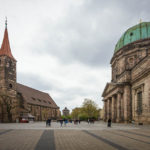 Jakobskirche und Elisabethkirche von außen