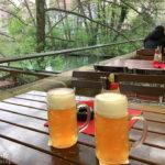 Bier trinken macht im Biergarten von Elkes Bierstadl im Kettensteg richtig Spaß
