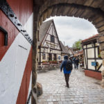 Eingang zum Handwerkerhof in Nürnberg