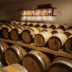 Whiskyfässer in der Hausbrauerei Altstadthof