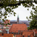 Blick von der Kaiserburg auf die Lorenzkirche