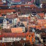 Blick aus dem Sinwellturm auf die Nürnberger Altstadt