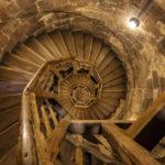 Das Treppenhaus im Sinwellturm ist ganz nach meinem Geschmack
