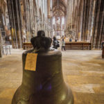 Die Feyerglocke in der Lorenzkirche zum Gedenken an die beiden Weltkriege
