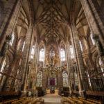 Der Engelsgruß von Veit Stoß in der Lorenzkirche