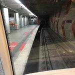 Die U-Bahn-Linie U2 fährt vollautomatisch ohne Fahrer