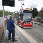 Straßenbahnlinie 6 in Nürnberg