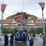 Eingang zum Nürnberger Volksfest